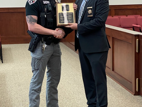 Deputy Howard honored with Doyle Award