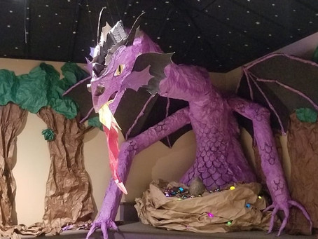Check Out Our Reading Room Dragon!
