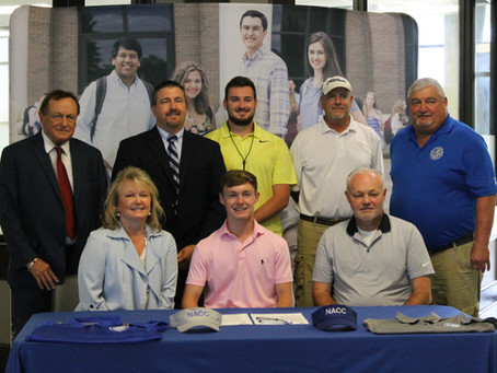 Dade Student to Play on NACC Golf Team