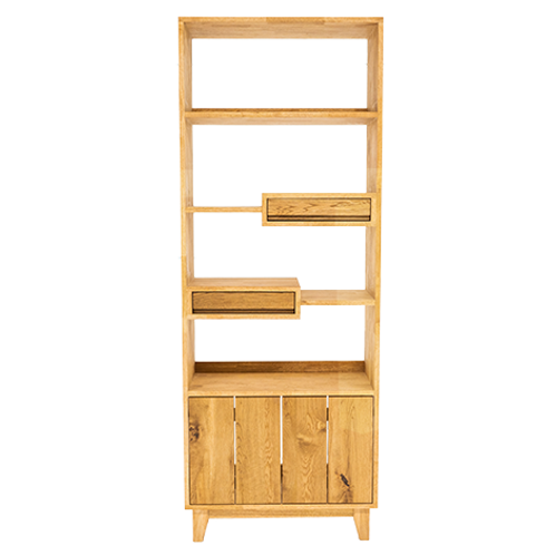4단책꽂이(Wood_book shelf)