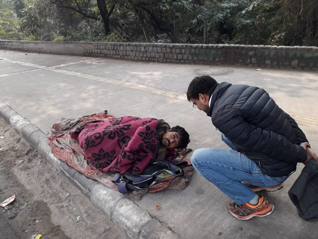 blanket distribution | ParasIndia
