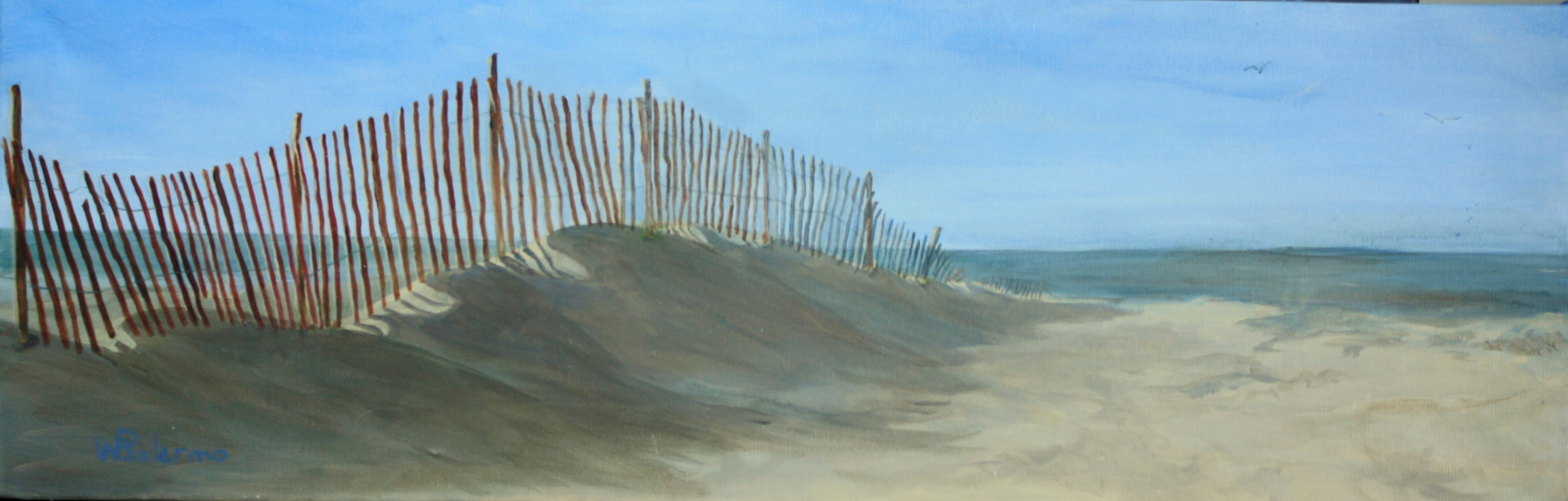 "Drifting Sands, 36x24"", Sold"