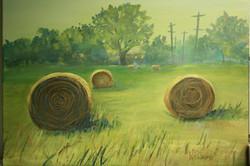"""Hot Haystacks, 9x12"""""""
