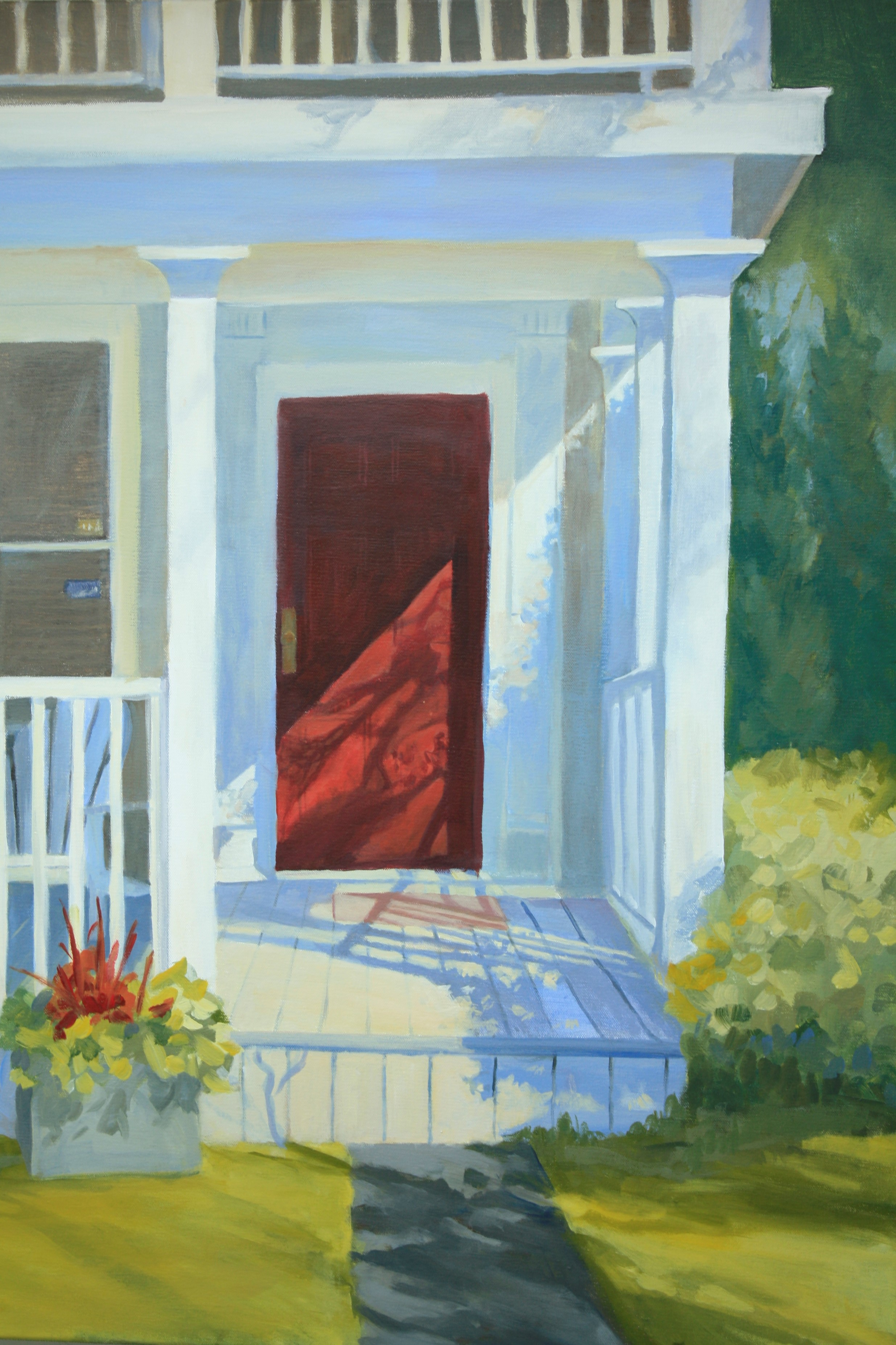 "Morning PorchSide, 36x40"", Sold"