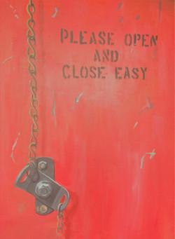 """Open Easy, 22x28"""""""