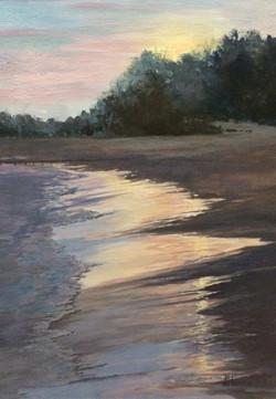 "Liquid Sunshine, 24x18"", Sold"