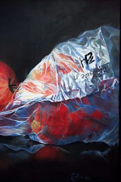 """Protected Apples, 30x40"""""""