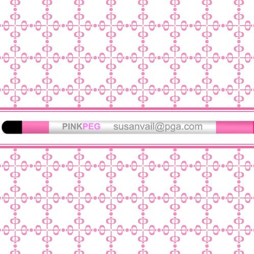 Pink Peg Alignment Sticks