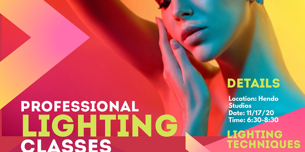 Class 2: Professional Lighting Classes