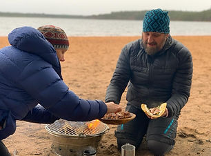 cooking on the beach.JPG