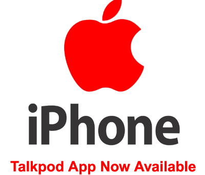 New iPhone App Now available for Talkpod America PTT Server PoC Platform