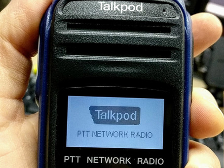The New smaller Talkpod N45 Cellular Network Radio, with GPS and emergency button now in US inventor
