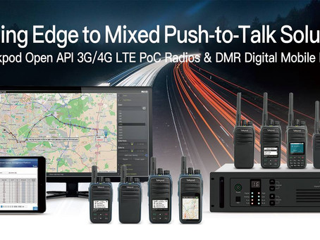 Talkpod America Building Edge to Mixed Push to Talk Solutions with open standard API