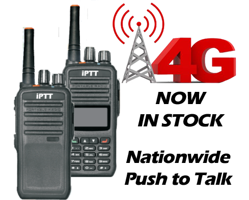 iptt.us 4G LTE Push to Talk radios now in stock