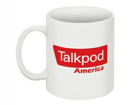 GOOD MORNING... Nothing like your morning coffee in a Talkpod coffee cup!