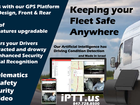 Live Stream Video and GPS Track your Fleet with AI watching your driver and Road Conditions