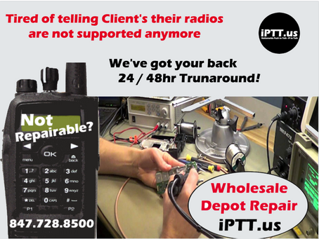 Wholesale LMR Two Way Radio Repair Depot Services