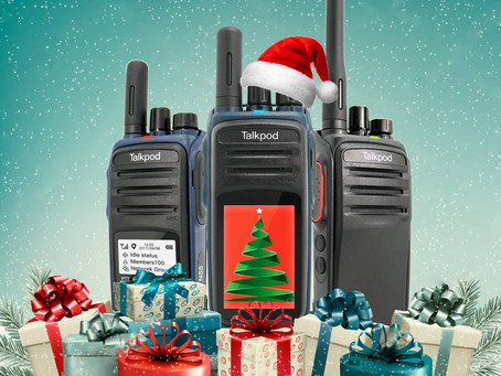 Merry Christmas from Talkpod America!