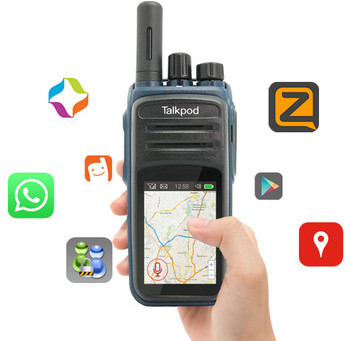 Talkpod America to ship N58 in 2018!  Portable Walkie Talkie WiFi Phone Two Way Radio. Android Based