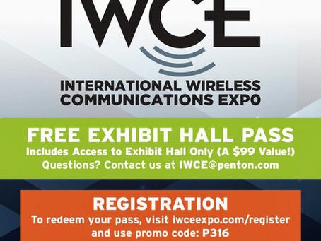 Join Talkpod America at IWCE 2018 in Orlando Florida March 7th and 8th, user code P316 for free entr
