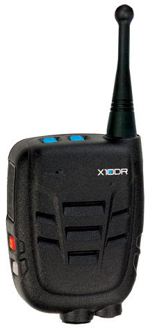 X10DR Extended range microphone for mobile two way radios