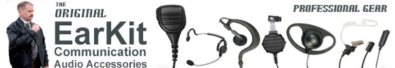 Earkit beand two way radio accessories banner