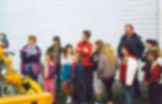 Historical photo of Mist grade school children