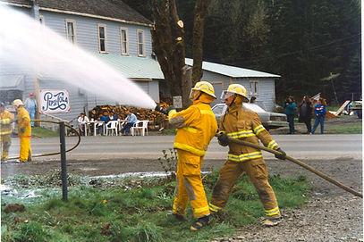 Historical photo of fire event