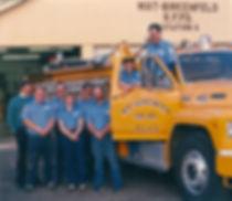 Historical photo of crew & apparatus