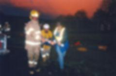Historical EMS training photo