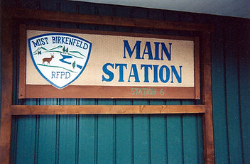 New Main Station #6 Sign