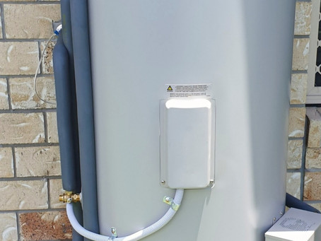 New Solar Hot Water Installed