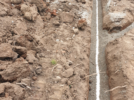 Storm Water work for House Renovation