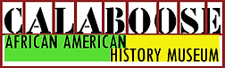 "Logo reading ""Calaboos African American History Museum"""