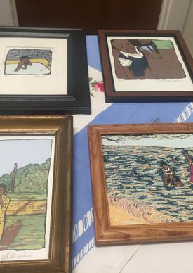 Art work at Calaboose