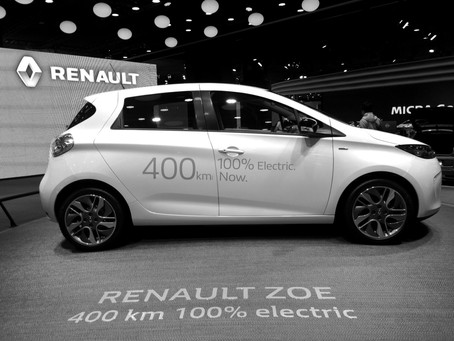 France dominated Europe's opening electric car sales month this year