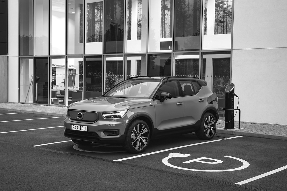 Volvo EV recharging Sweden