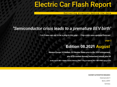 Semiconductor crisis accelerates the EV transition