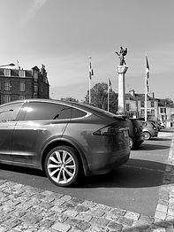 Tesla Model X in Paris France