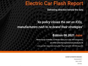 European Electric Car Report June 2021 highlights