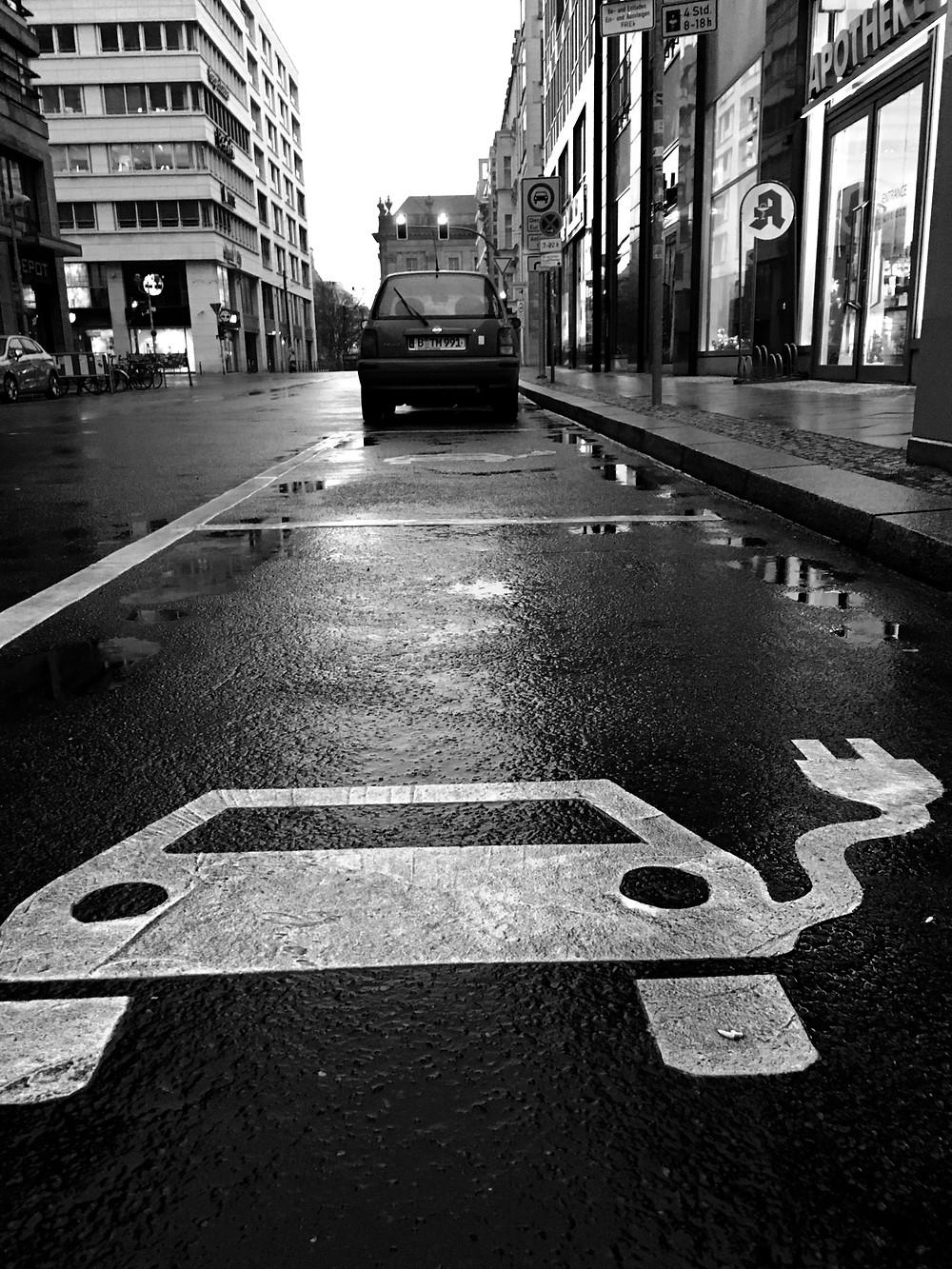 Berlin EV street parking