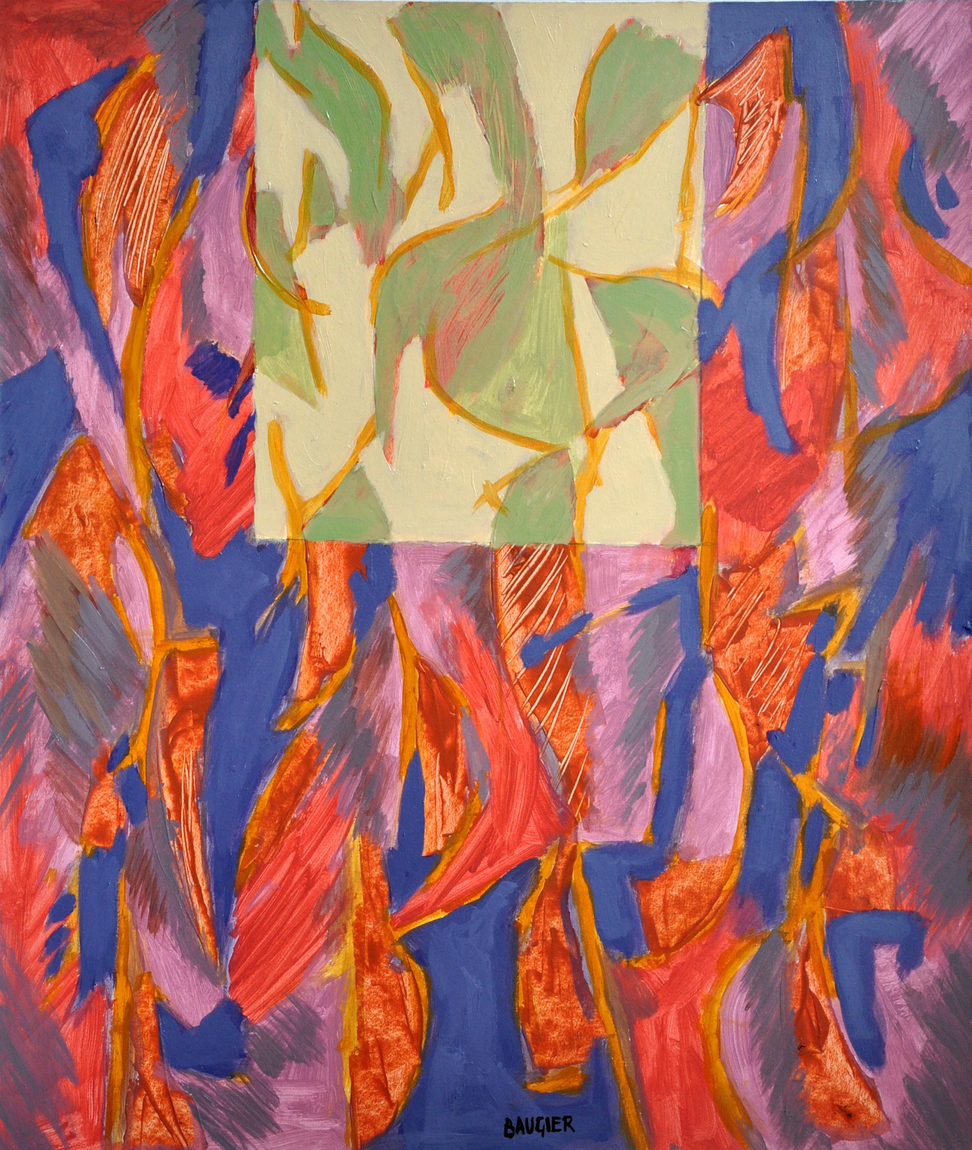 881 70X60 PAPIER SUR TOILE 2008