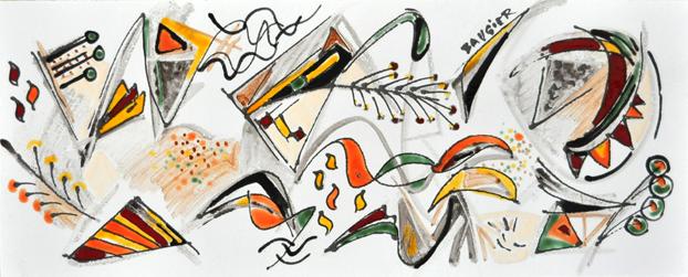n°_10_bis_Collection_privée_Emaux_sur_lave_90x35cm_2012