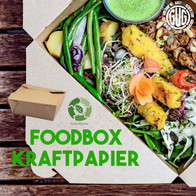 Foodboxen aus Kraftpapier