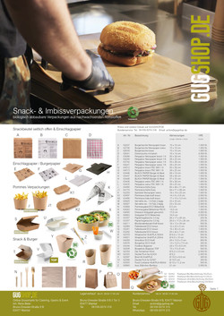 Streetfood Verpackungen