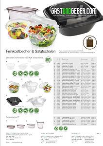 Feinkostbecher & Salatschalen PLA | GASTUNDGEBER,COM | GUGSHOP.DE | GUG