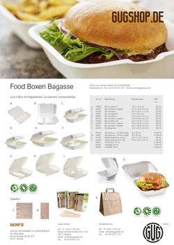 Foodboxen Bagasse
