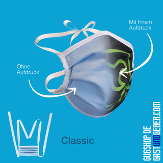 Mund-Nasen-Maske CLASSIC