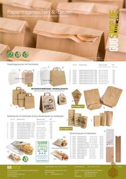 Papiertragetaschen, Faltenbeutel & Bodenbeutel