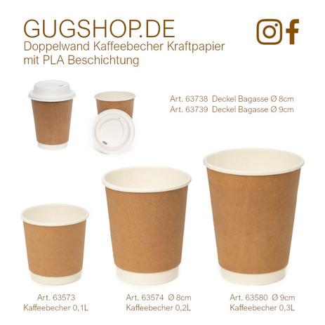 Doppelwand Kaffeebecher